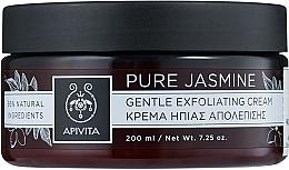 """Parfumuri și produse cosmetice Cremă- exfoliantă delicată """"Iasomie pură"""" - Apivita Gentle Exfoliating Cream"""