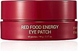 Parfumuri și produse cosmetice Patch-uri sub ochi - Yadah Red Food Energy Eye Patch