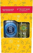 Parfumuri și produse cosmetice Set - L'Occitane Shea Shower Duo (sh/foam/200ml+bath/foam/500ml)