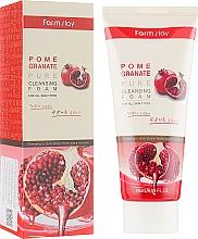 Parfumuri și produse cosmetice Spumă cu rodie pentru spălare - Farmstay Pomegranate Pure Cleansing Foam