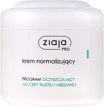 Parfumuri și produse cosmetice Cremă normalizatoare pentru față - Ziaja Pro Normalizing Cream