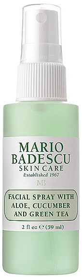 Spray facial cu extracte de aloe, castravete și ceai verde - Mario Badescu Facial Spray Aloe, Cucumber & Green Tea