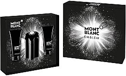 Parfumuri și produse cosmetice Montblanc Emblem - Set (edt/100ml + asb/100ml + sh/gel/100ml)