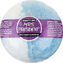 Parfumuri și produse cosmetice Bilă efervescentă pentru baie cu ulei de migdale - Beauty Jar MRS. President