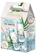 Parfumuri și produse cosmetice Set - Bielenda Beauty Milky Coconuts (milk/400ml + sh/milk/400ml)
