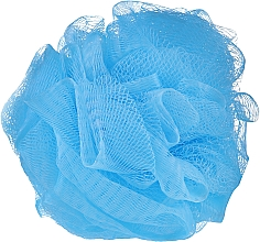 Parfumuri și produse cosmetice Burete de baie, albastru - IDC Institute Design Mesh Pouf Bath Sponges