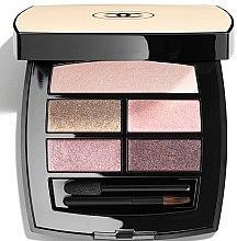 Parfumuri și produse cosmetice Paletă fond de ten cu efect de strălucire naturală - Chanel Les Beiges Healthy Glow Eye Shadow Palette Light