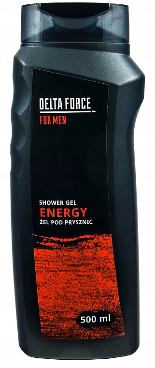 Gel de duș - Pharma CF Delta Force For Men Energy Shower Gel