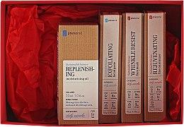 Parfumuri și produse cosmetice Set - Phenome Sustainable Science (cr/10ml + f/mask/10ml + peeling/paste/10ml + f/oil/30ml)