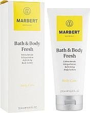 Parfumuri și produse cosmetice Loțiune revigorantă cu aromă de citrice pentru corp - Marbert Bath & Body Fresh Refreshing Body Lotion