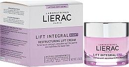 Parfumuri și produse cosmetice Cremă regenerantă de noapte, cu efect de lifting - Lierac Lift Integral Night Restructuring Lift Cream