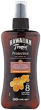 Parfumuri și produse cosmetice Spray de corp - Hawaiian Tropic Protective Dry Oil Spray SPF 8