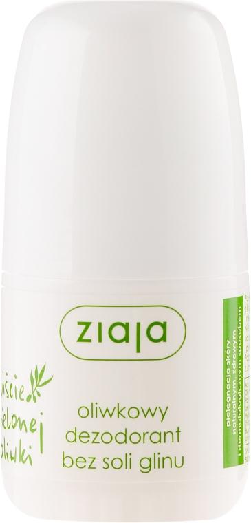 Deodorant - Ziaja Olive Leaf Roll On Anti-perspirant Without Aluminium Salt