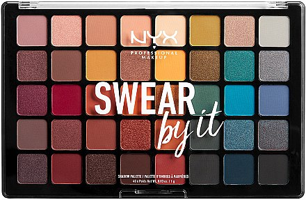 Paletă farduri de ochi - NYX Professional Makeup Swear By It Shadow Palette