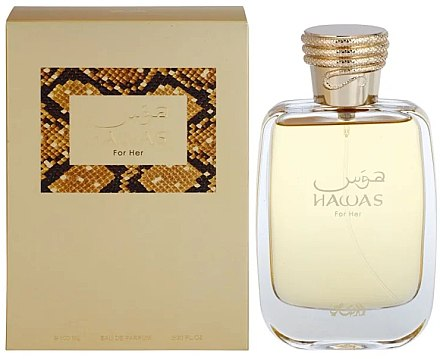 Rasasi Hawas For Her - Apă de parfum  — Imagine N1