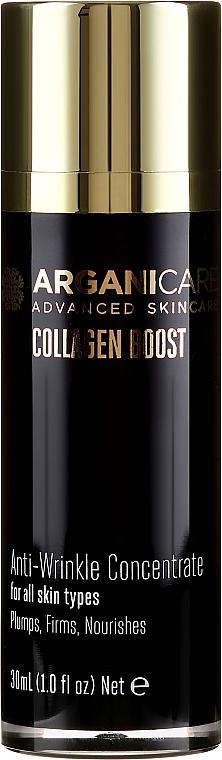 Ser antirid pentru față - Arganicare Collagen Boost Anti-Wrinkle Serum — Imagine N2