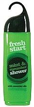 Parfumuri și produse cosmetice Gel de duș - Xpel Fresh Start Mint & Cucumber Shower Gel