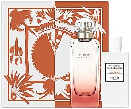 Parfumuri și produse cosmetice Hermes Un Jardin Sur La Lagune - Set (edt/100ml + b/lot/80ml)