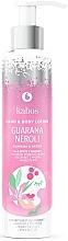 "Parfumuri și produse cosmetice Balsam de mâini și corp ""Guarana și Neroli"" - Kabos Guarana & Neroli Hand & Body Lotion"