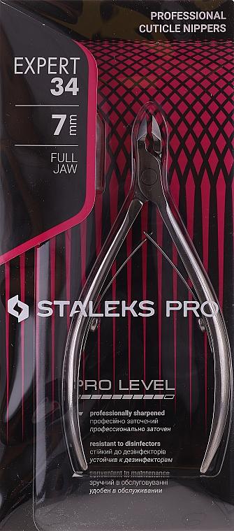 """Clește pentru unghii și cuticule NE-34-7 """"Expert"""" - Staleks Pro"""