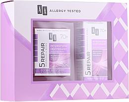 Parfumuri și produse cosmetice Set - AA Age Technology 5 Repair 70+ (f/cr/50ml + eye/cr/15ml)