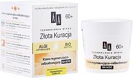 Parfumuri și produse cosmetice Cremă de noapte regeneratoare pentru față 60+ - AA Cosmetics Age Technology Regenerating And Restoring Night Cream