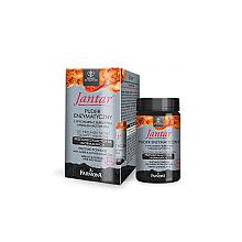 Parfumuri și produse cosmetice Pulbere cu extract de chihlimbar și cărbune pentru scalp și păr - Farmona Jantar Powder