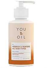 """Parfumuri și produse cosmetice Apă de curățare pentru față """"Nutriție și îngrijire"""" - You & Oil Nourish & Nurture Face Wash"""