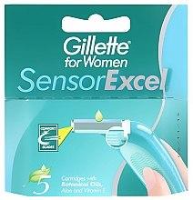 Parfumuri și produse cosmetice Casete de rezervă pentru aparat de ras - Gillette for Women Sensor Excel