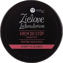 """Parfumuri și produse cosmetice Cremă catifelată pentru picioare """"Uree și Unt de shea"""" - Zielone Laboratorium"""