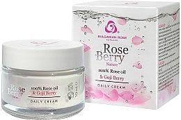 Parfumuri și produse cosmetice Cremă de zi pentru față - Bulgarian Rose Rose Berry Nature Day Cream