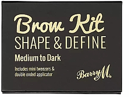 Parfumuri și produse cosmetice Set pentru machiajul ochilor - Barry M Brow Kit