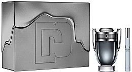 Parfumuri și produse cosmetice Paco Rabanne Invictus Intense - Set (edt/100ml + edt/mini/10ml)