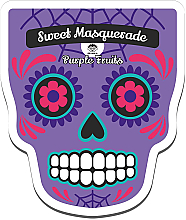 Parfumuri și produse cosmetice Mască din țesătură pentru față - Dr Mola Sweet Masquarade Pureple Fruits mask