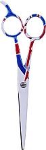 Духи, Парфюмерия, косметика Ножницы парикмахерские, 5.5см - Ronney Professional White Flag London