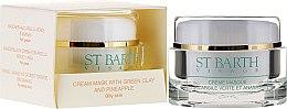 Parfumuri și produse cosmetice Cremă-Mască de față cu ananas și argilă verde - Ligne St Barth Cream Mask With Green Clay And Pineapple