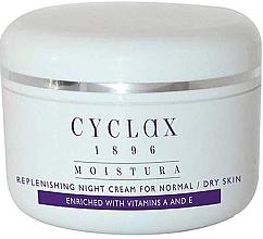 Parfumuri și produse cosmetice Cremă hidratantă de noapte pentru față - Cyclax Moistura Replenishing Night Cream Normal / Dry Skin