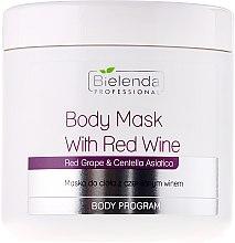 Parfumuri și produse cosmetice Mască de corp cu vin roșu - Bielenda Professional Body Mask With Red Wine