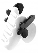 Parfumuri și produse cosmetice Agrafă de păr 232, albă - Moliabal Milano Hair Clip