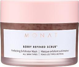 Parfumuri și produse cosmetice Mască-scrub pentru față - Monat Berry Refined Scrub Perfecting Exfoliator Mask