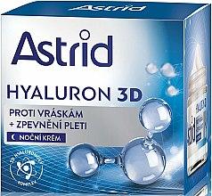 Parfumuri și produse cosmetice Cremă de noapte pentru față - Astrid Hyaluron 3D