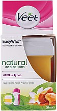 Parfumuri și produse cosmetice Ceară depilatoare cartuș - Veet Easy Wax Natural Inspirations
