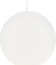 Parfumuri și produse cosmetice Lumânare aromatică rotundă, albă, 80 mm - Bolsius Ball Candle Rustic