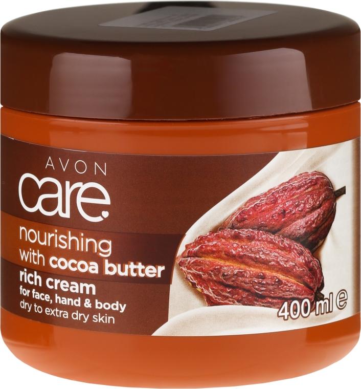 Cremă cu ulei de cacao pentru corp - Avon Care — Imagine N1