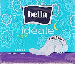 Духи, Парфюмерия, косметика Absorbante Ideale Ultra Night StaySofti, 7bucăți - Bella
