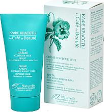 """Parfumuri și produse cosmetice Cremă cu textură ușoară pentru pielea din jurul ochilor """"Prospețime și strălucire"""" îngrijire de noapte - Le Cafe de Beaute Night Eye Cream"""
