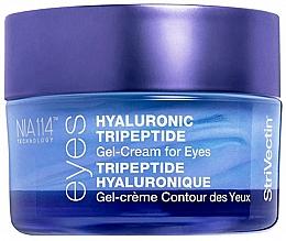 Parfumuri și produse cosmetice Cremă cu gel de tripeptidă și acid hialuronic pentru zona ochilor - StriVectin Advanced Hydration Hyaluronic Tripeptide Gel-Cream For Eyes