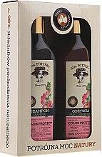 Parfumuri și produse cosmetice Set - Mrs. Potter's Triple Flower (shm/390ml + cond/390ml)