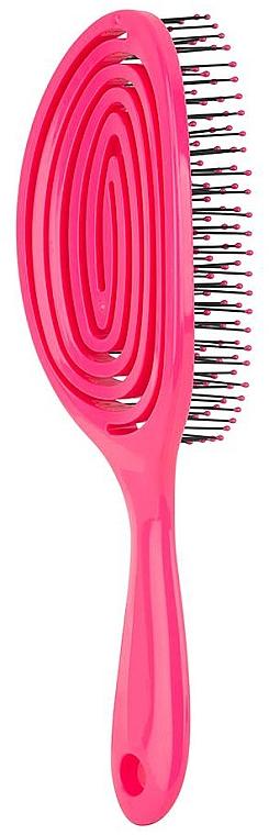 Perie pentru păr scurt, roz - Beter Elipsi Detangling Brush Small Fucsia — Imagine N3
