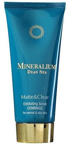 Scrub pentru față - Mineralium Matte&Clear Exfoliating Scrub — Imagine N1